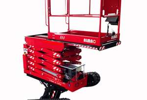 Hire - Scissor Lift 19ft Tracked Bi Level