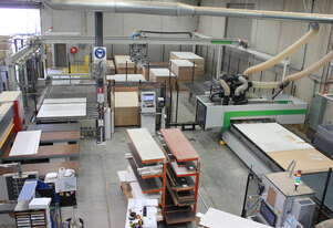 Biesse Used Winstore K2 and Rover B 1836 NBC