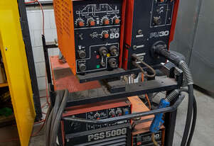 Kemppi PSS5000 power supply mig, tig and water cooling units