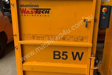 Bramidan B5W Vertical Baler  | 5 Tonne Press Force  | Great for handling large boxes