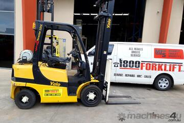 Yale GLP25VX 2.5t Counterbalance Forklift with Sideshift