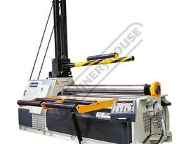 4R HSS NC 30-280 Hydraulic NC Plate Curving Rolls - 7-Axis NC Control 3100 x 12mm Mild Steel Capacit - picture0' - Click to enlarge