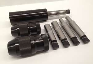 7 Pce. MT3 - Drill Chuck, Sleeves & Arbor Set.