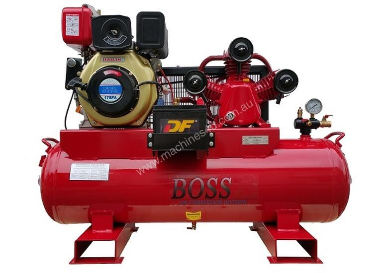 New Boss Bc20d 112l Portable Diesel Compressor In Browns