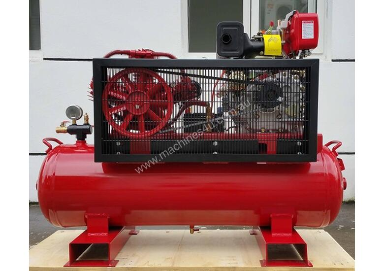 BOSS 20CFM/ 6HP DIESEL AIR COMPRESSOR (E/Start)