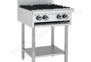 Luus Model CS-2B3C - 2 Burners, 300 BBQ Char & Shelf
