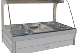 Hot Foodbar - Roband C23 Curved Glass Double Row