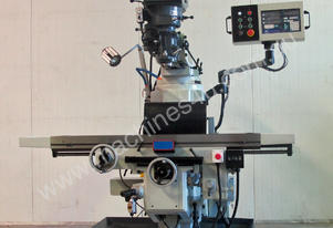 Large Table, Variable Speed, Integral Gearbox Feed