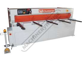HG-840B Hydraulic NC Guillotine 2500 x 4mm Mild Steel Shearing Capacity 1-Axis Ezy-Set NC-89 Control - picture2' - Click to enlarge