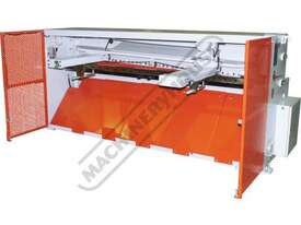HG-840B Hydraulic NC Guillotine 2500 x 4mm Mild Steel Shearing Capacity 1-Axis Ezy-Set NC-89 Control - picture16' - Click to enlarge