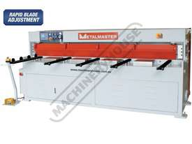 HG-840B Hydraulic NC Guillotine 2500 x 4mm Mild Steel Shearing Capacity 1-Axis Ezy-Set NC-89 Go-To C - picture0' - Click to enlarge