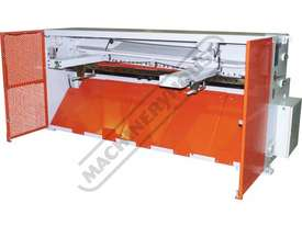 HG-840B Hydraulic NC Guillotine 2500 x 4mm Mild Steel Shearing Capacity 1-Axis Ezy-Set NC-89 Go-To C - picture16' - Click to enlarge