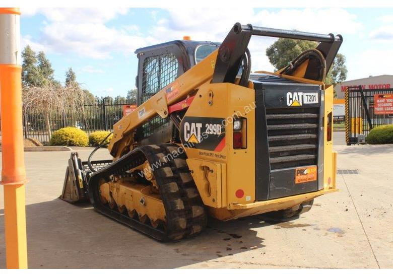2014 CAT 299D XPS TRACKED SKID STEER LOADER