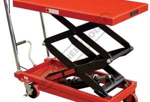 LTH-350 Hydraulic Lifter Trolley 350kg Load Capacity 1300mm Lift Height