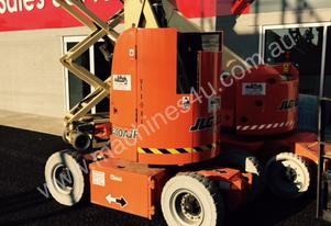 JLG E300 AJP ARTICULATING BOOM/ ELECTRIC KNUCKLE