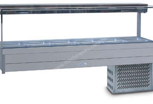 Roband SRX26RD Square Glass Refrigerated Display