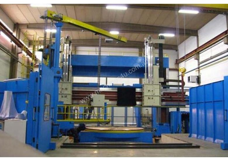 WMW Large Capacity European CNC Vertical Lathes