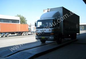 Weighbridge: Portable - 25 T per loadcell-