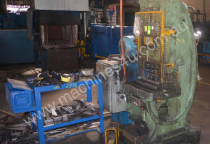 C metalworking PRESS 20 TON 37.8kW 50hp motor