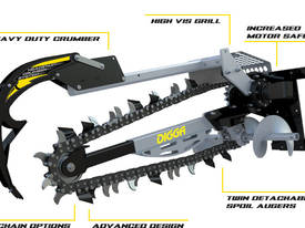 2016 DIGGA HYDRIVE 1200 XD TRENCHER ATTACHMMENT