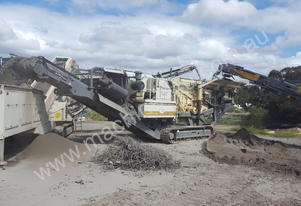 Metso LT1110 - Impact Crusher Low hours
