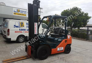 Toyota 32-8FG25 Counterbalance forklift Low Hrs