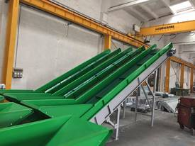 NEW Surplus HEAVY DUTY PVC Belt Conveyor