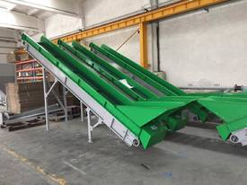 NEW Surplus HEAVY DUTY PVC Belt Conveyor - picture1' - Click to enlarge