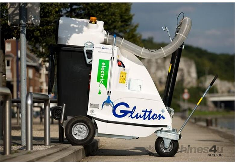 Glutton 2411 electric vacuum litter collector