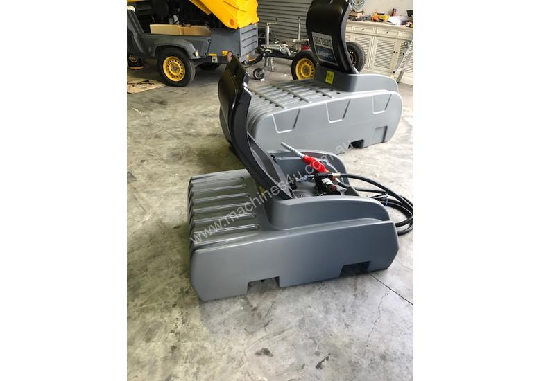 NEW 12V poly site / ute transfer tanks 200 litres