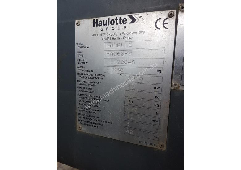 Haulotte 80ft/26m Knuckle Boom