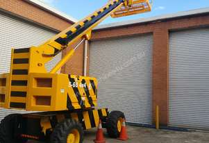 Genie S-60 4WD  Straight Telescopic Boom Lift