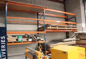 Yellow Pallet Racking, 2 Stand 10 beams