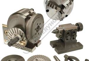 BS-0 Dividing Head - Semi Universal Package Deal 100mm Includes 130mm 3-Jaw Chuck