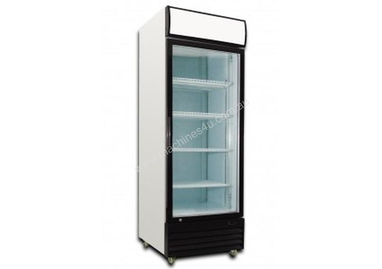 Saltas Single Glass Door Upright Fridge 380 Lt DFS0380