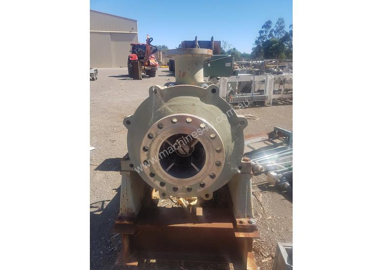 Staging pump and motor