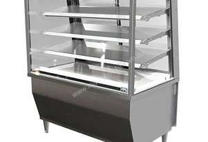 FPG 5C08-SQ-FF Refrigerated Integral 5000 Series Refrigerated Integral Square Display Cabinet -Fixed