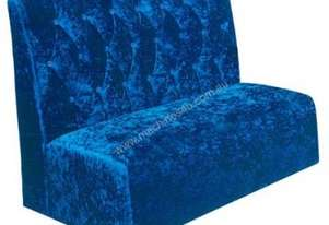 F.E.D. Lounge Single Blue Velvet 1100x600x1100 - SL12-294S