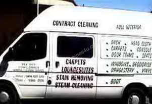 Ford Van and cleaning equipment