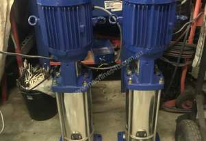 Lowara   irrigation pumps x2