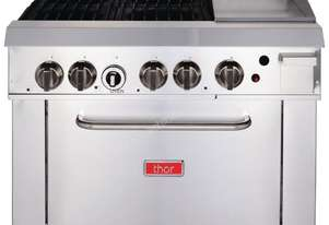 Thor GH102-N - 4 Burner Gas Range with 305mm Griddle Natural Gas