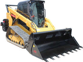 New Norm Engineering 4-in-1 Loader Style Bucket for Kubota SVL-90 Skid Steer - picture1' - Click to enlarge