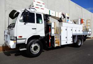 Nissan PK265 Elevated Work Platform Truck