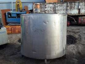 Custom Mixing Tank with agitator Water Tank Attachments - picture4' - Click to enlarge