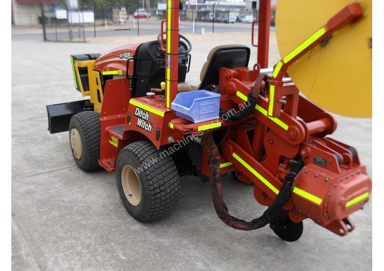 Ditch Witch RT45/H331 Custom Built Vibratory Plough &/or New H314 trenching attachment