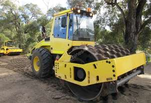 Bomag BW211-4 Padfoot Compaction Roller