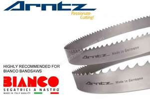 Bandsaw Blade for Bianco Model 370 A60 - Length 3120 mm x Width 27mm x 0.9mm x TPI