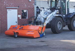 Tuchel Profi Champ Road Sweeper Broom for mini loaders and skid steers