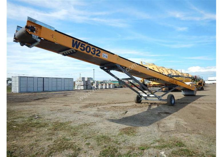 2018 Barford W5032 Wheeled Stockpile Conveyor 50ft x 32
