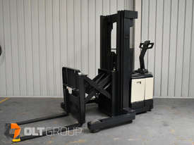 Used Crown WR3000 Walkie Reach Truck Container Mast Full Free Lift 1500kg Capacity - picture0' - Click to enlarge